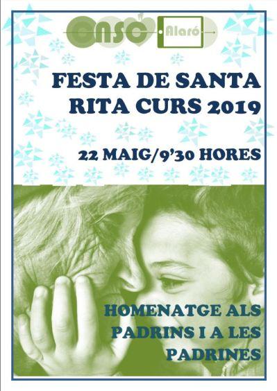 CARTELL FESTA SANTA RITA 18-19